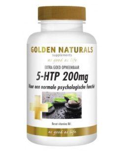 Golden Naturals 5-HTP 200mg (30 caps.)