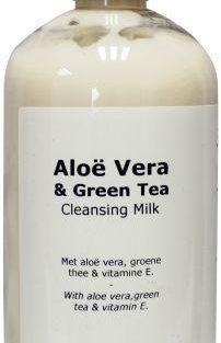 Aloe vera groene thee reinigingsmelk
