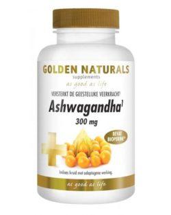 Golden Naturals Ashwagandha 300 mg (60 vega caps.)