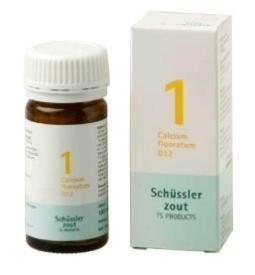 Calcium fluoratum 1 D12 Schussler 100 tabletten