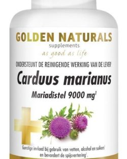 Golden Naturals Carduus marianus (60 tabl.)