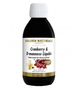 Golden Naturals Cranberry & D-mannose Liquid (500 ml)