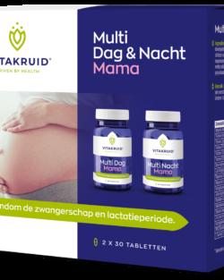 Vitakruid Multi dag & nacht mama 2 x 30 stuks