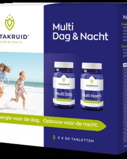 Vitakruid Multi dag & nacht 2 x 30 tabletten