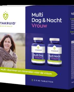 Vitakruid Multi dag & nacht vrouw 2 x 90 tabletten