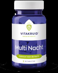 Vitakruid Multi Nacht 30 tabletten