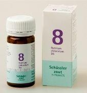 Natrium chloratum 8 D6 Schussler 100 tabletten