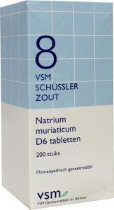 Natrium muriaticum D6 Schussler 8