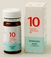 Natrium sulfuricum 10 D6 Schussler 100 tabletten