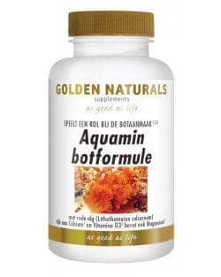 Golden Naturals Aquamin Botformule (90 caps.)