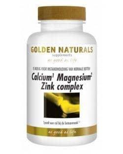 Golden Naturals Calcium Magnesium Zink Complex (250 tabl.)