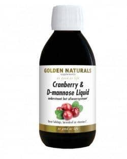 Golden Naturals Cranberry & D-mannose Liquid (250 ml)