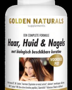 Golden Naturals Haar Huid Nagels (180 caps.)