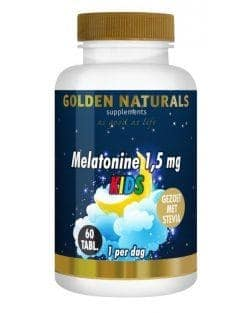 Golden Naturals Kids Melatonine 1,5 mg (60 smelttabletten)