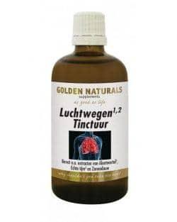 Golden Naturals Luchtwegen Tinctuur (100 ml)