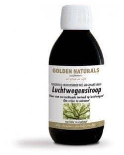 Golden Naturals Luchtwegensiroop (200 ml)