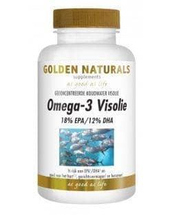 Golden Naturals Omega-3 18% EPA en 12% DHA (180 caps.)