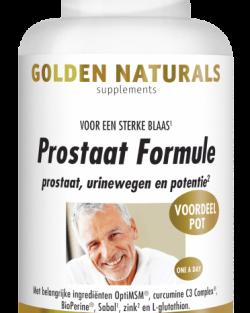 Golden Naturals Prostaat Formule (180 caps.)