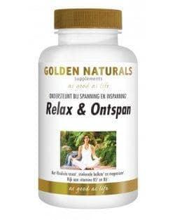 Golden Naturals Relax en Ontspan (60 caps.)