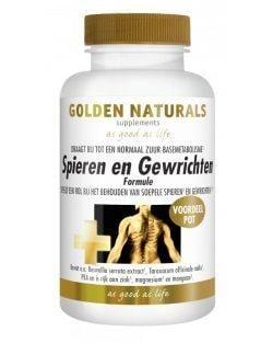 Golden Naturals Spieren en Gewrichten (180 caps.)