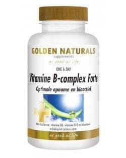 Golden Naturals Vitamine B-complex Forte (60 tabl.)