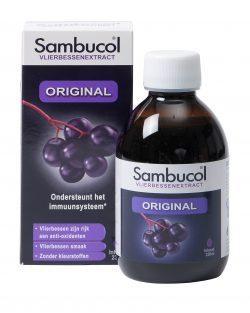 Vlierbessensiroop original 230 ml (voordeelfles)