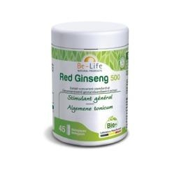 Be-Life Red Ginseng 500 BIO 45 biologische capsules