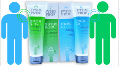 FysioProf Deep Cure Balsem_Cooling Gel