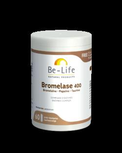 Be-Life Bromelase 400 BIO 60 plantaardige capsules