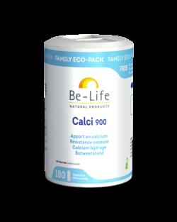 Be-Life Calci 900 180 plantaardige capsules VOORDEELVERPAKKING