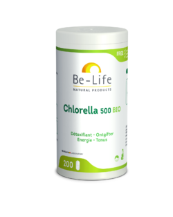Be-Life Chlorella 500 BIO 200 tabletten