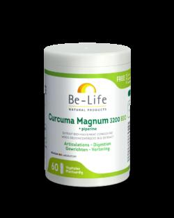 Be-Life Curcuma Magnum 3200 + Piperine BIO 60 organische capsules