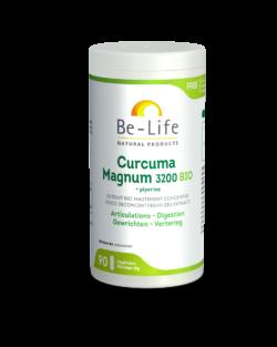 Be-Life Curcuma Magnum 3200 + Piperine BIO 90 organische capsules