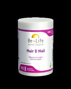 Be-Life Hair & Nail BIO 90 plantaardige capsules