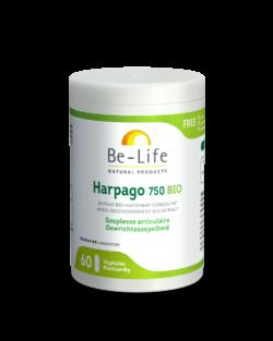 Be-Life Harpago (duivelsklauw) 750 BIO 60 plantaardige capsules