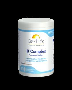 Be-Life Kalium Complex 60 zuurbestendige capsules