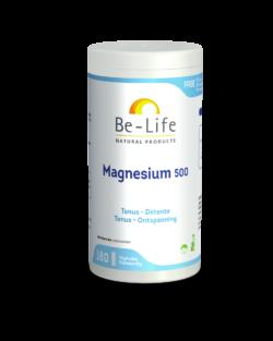 Be-Life Magnesium 500 180 plantaardige capsules