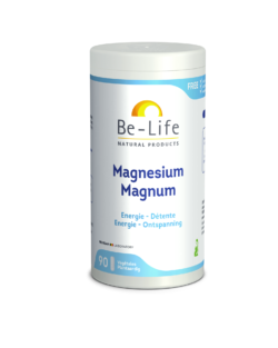 Be-Life Magnesium Magnum 90 plantaardige capsules