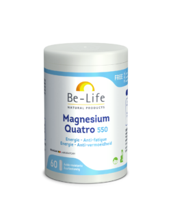 Be-Life Magnesium Quatro 550 60 zuurbestendige capsules