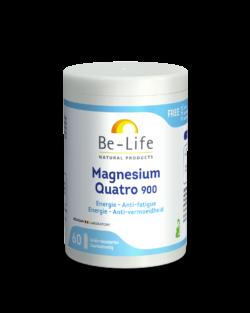 Be-Life Magnesium Quatro 900 60 zuurbestendige capsules