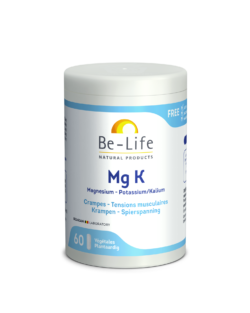 Be-Life MG K Magnesium-Kalium 60 plantaardige capsules