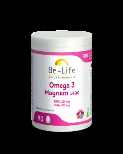 Be-Life Omega 3 Magnum 1400 90 capsules