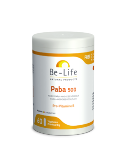 Be-Life Paba 500 60 plantaardige capsules