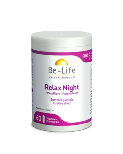Be-Life Relax Night BIO 60 plantaardige capsules