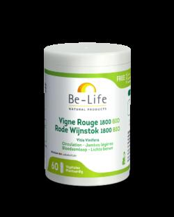 Be-Life Rode Wijnstok 1800 BIO 60 biologische capsules