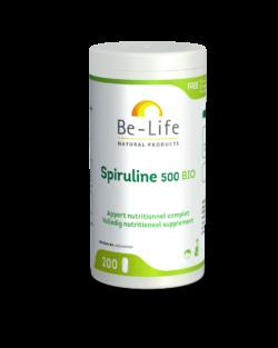 Be-Life Spirulina 500 BIO 200 tabletten