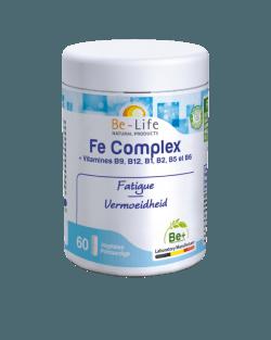 Be-Life IJzer Complex BIO 60 plantaardige capsules