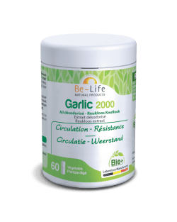 Be-Life Garlic 2000 BIO 60 plantaardige capsules