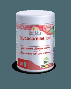 Be-Life Glucosamine 1500 BIO 120 plantaardige capsules