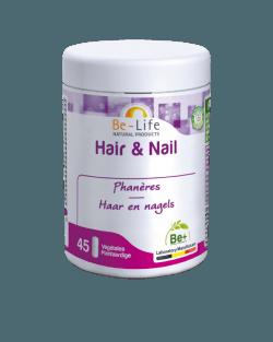 Be-Life Hair & Nail BIO 45 plantaardige capsules